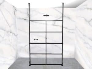 DEK-design Free Standing 140 helder glas