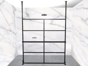 DEK-design Free Standing 180 helder glas
