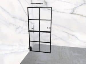 DEK-design Wall L 100 helder glas