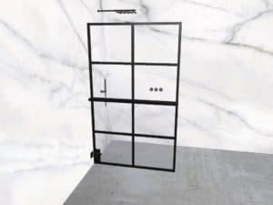 DEK-design Wall L 120 helder glas