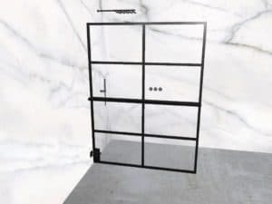 DEK-design Wall L 150 helder glas